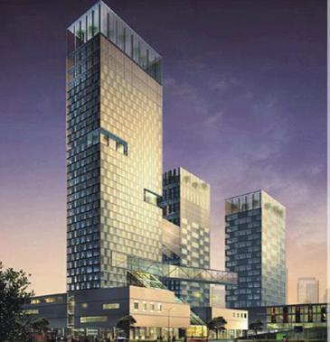 建滔广场三期酒店项目诺富特酒店