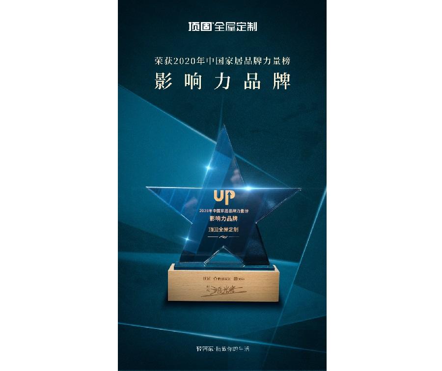 2020年中国家居品牌力量榜-影响力品牌